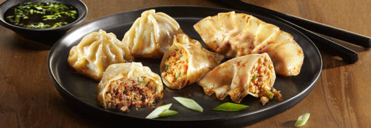 Mandu dumplings de corea